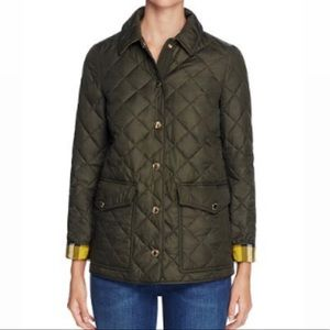 Authentic Burberry Kencott Quilted Jacket. Sz XS